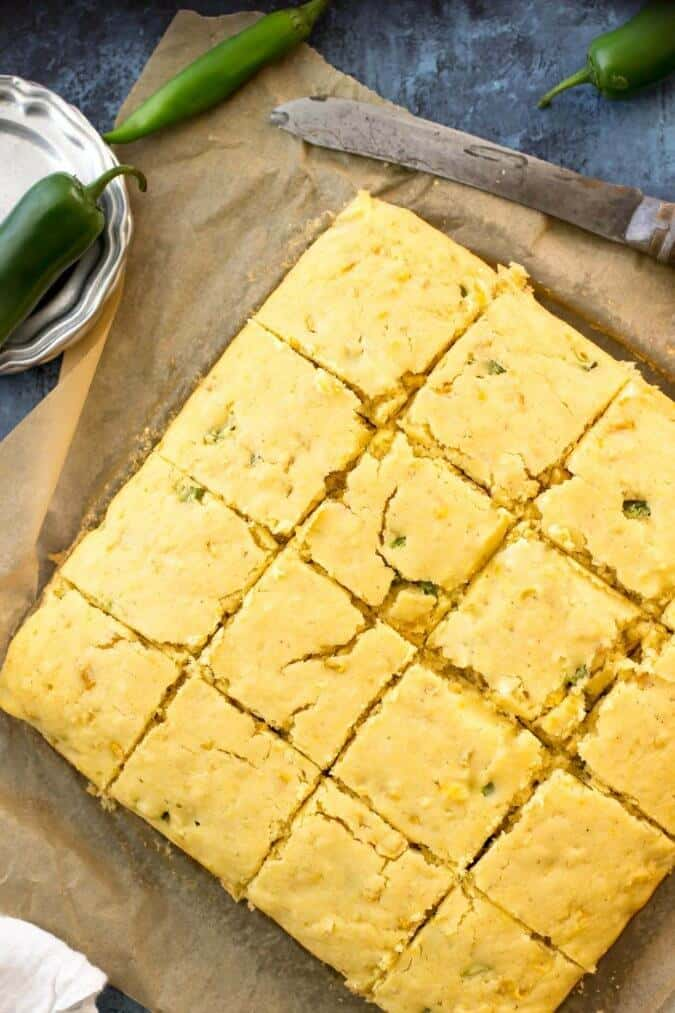 "<em>A sweet jalapeno cornbread made with real corn and a kick of fresh jalapeno peppers.</em> <img class=""alignnone size-large wp-image-7607"" src=""http://sugarspunrun.com/wp-content/uploads/2014/04/jalapeno-cornbread-1-of-1-8-675x1013.jpg"" alt=""jalapeno cornbread (1 of 1)-8"" width=""675"" height=""1013"" /> Some recipes are staples."