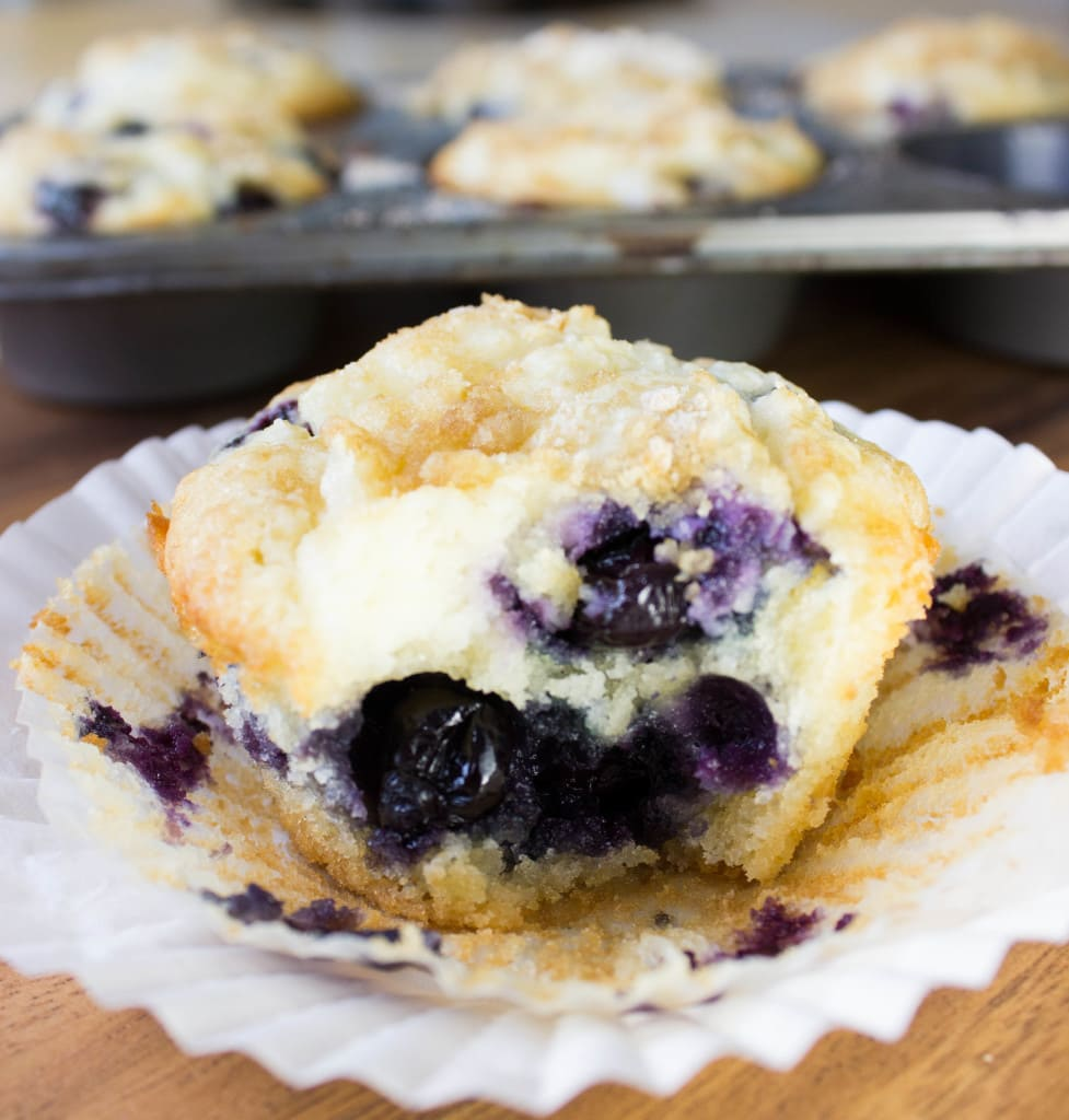 Blueberry Cream Cheese Muffin