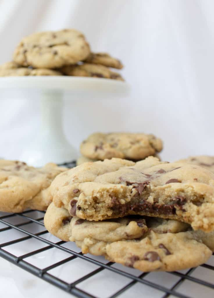 Brown Butter and Bourbon Cookies