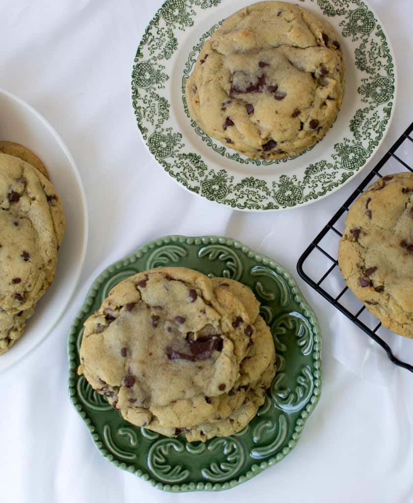 Browned Butter and Bourbon Cookies