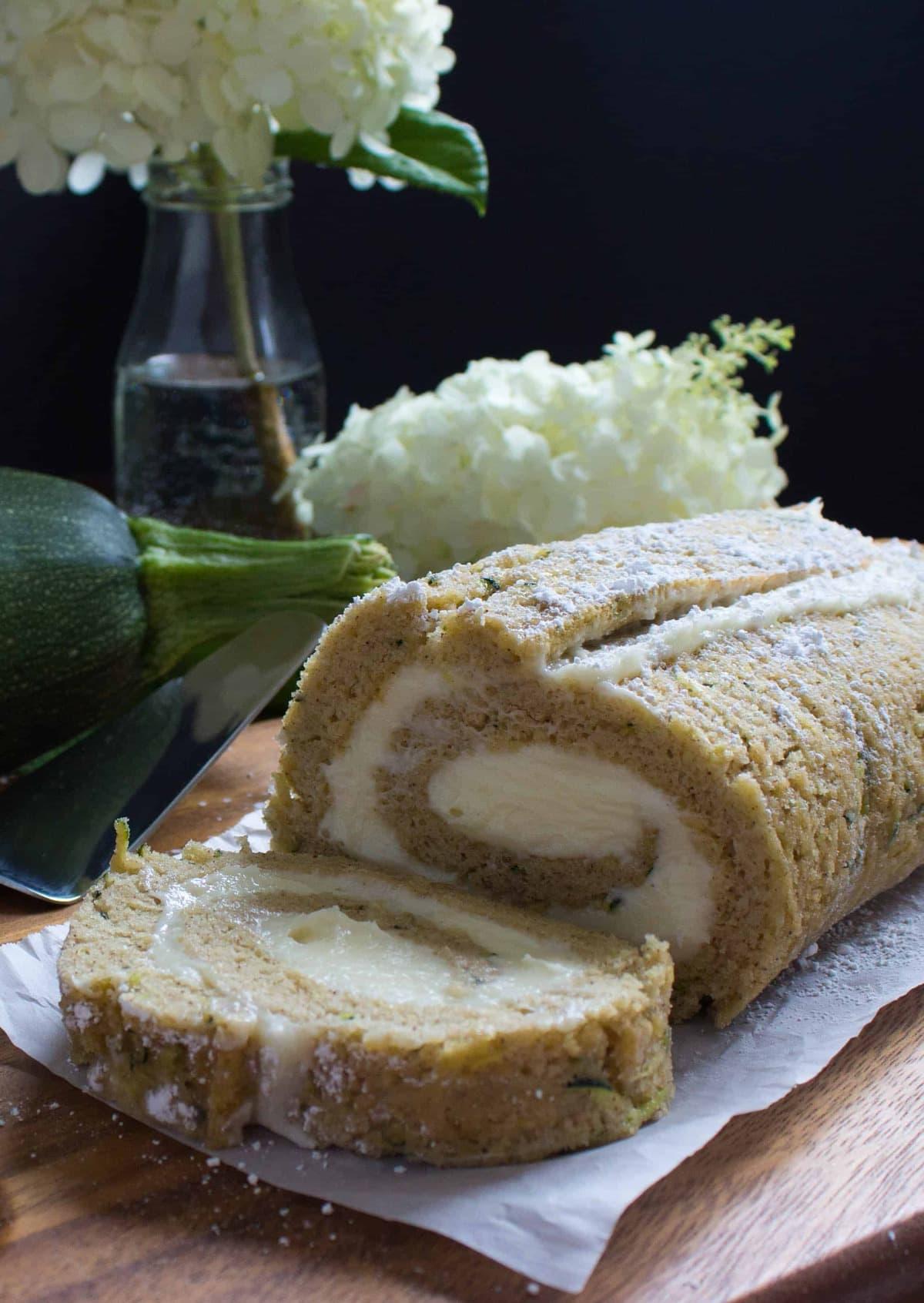Easy Zucchini Roll