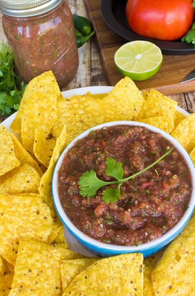Fresh Blender Salsa