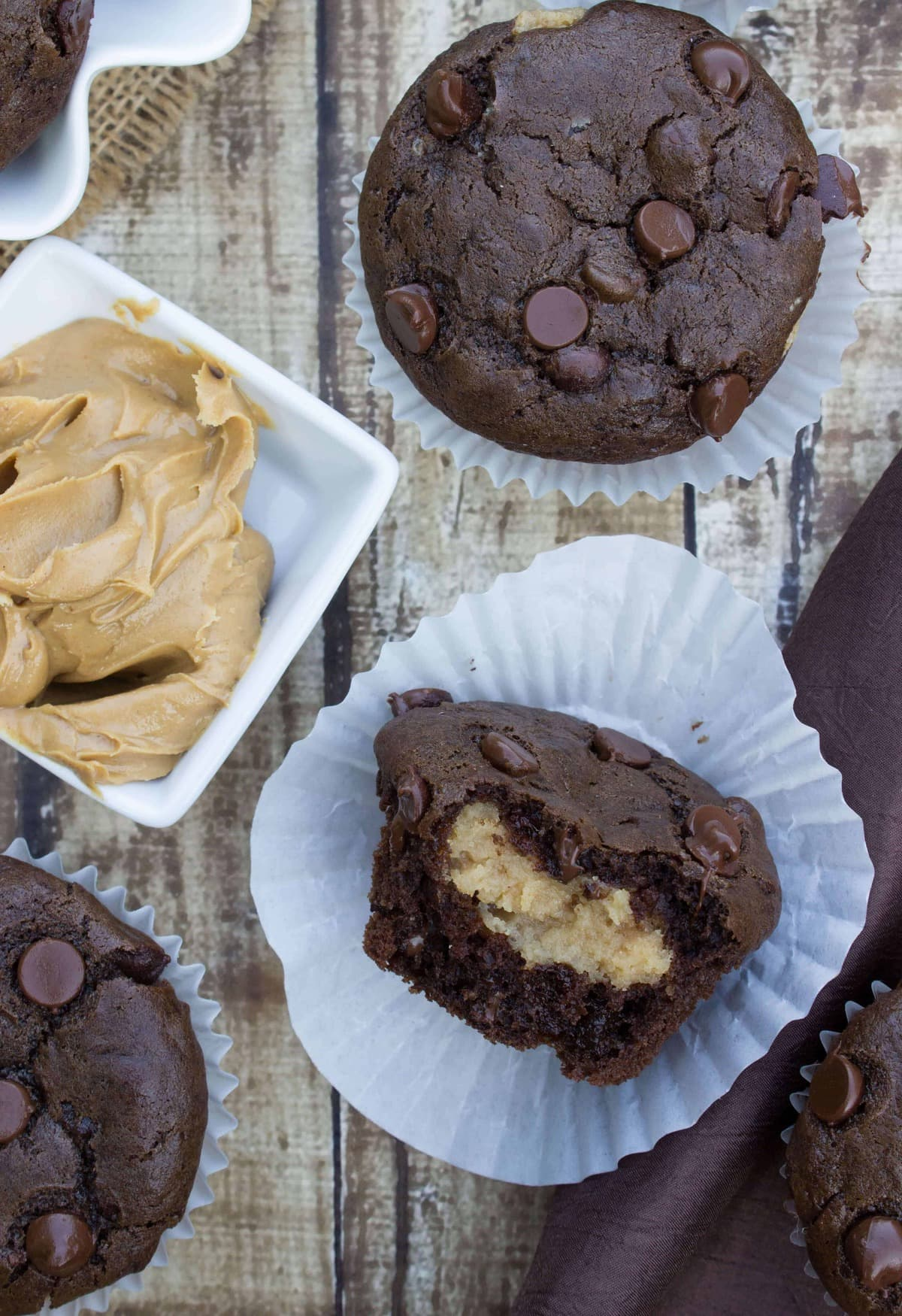 pb filled muffins-6