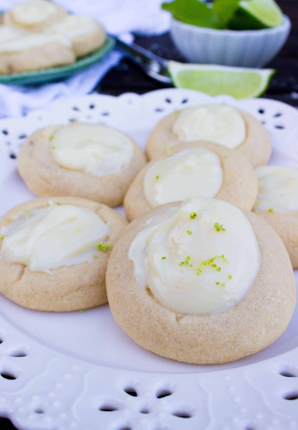 key lime cookies-3
