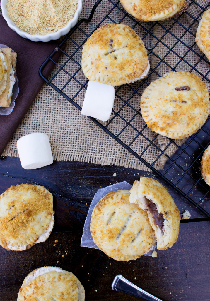 Easy S'mores Hand Pies