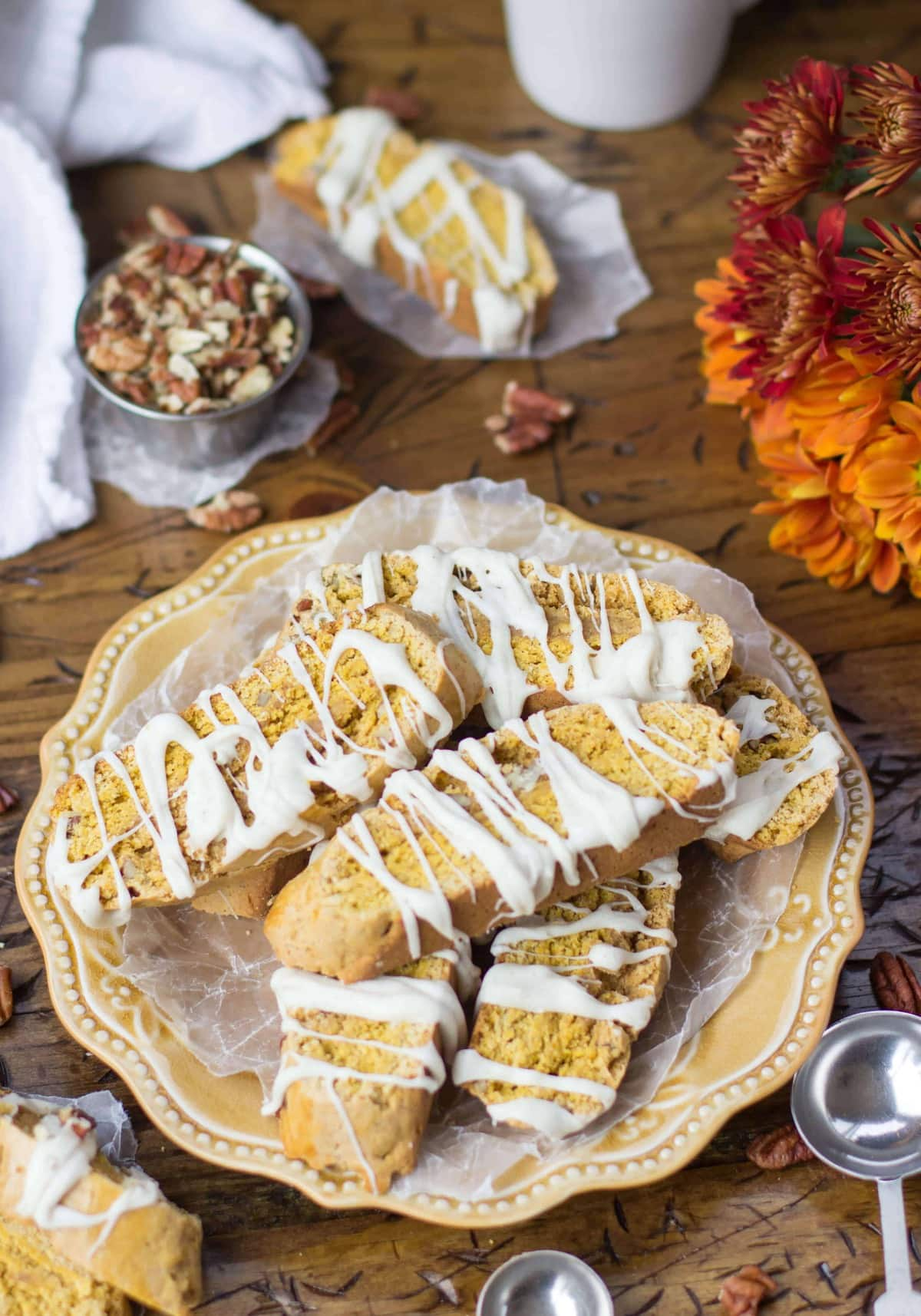 Pumpkin Spice Biscotti - Sugar Spun Run