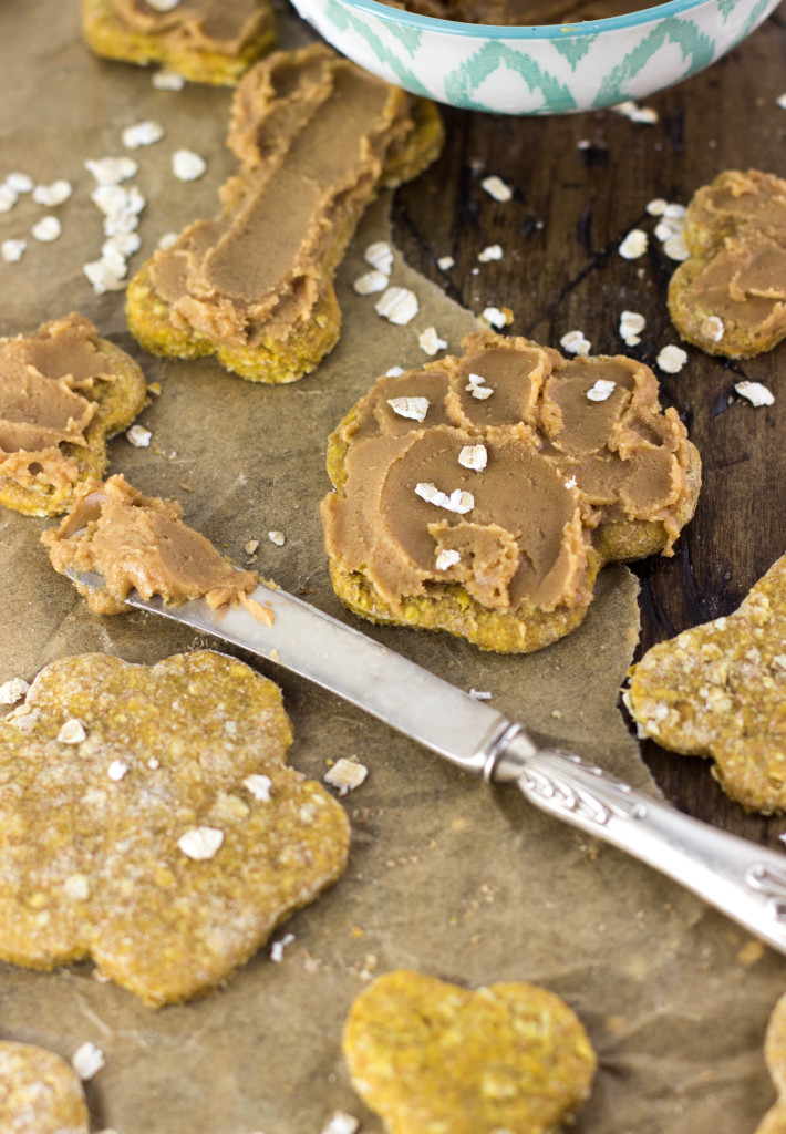 Homemade Dog Cookies -- Only 5 ingredients!