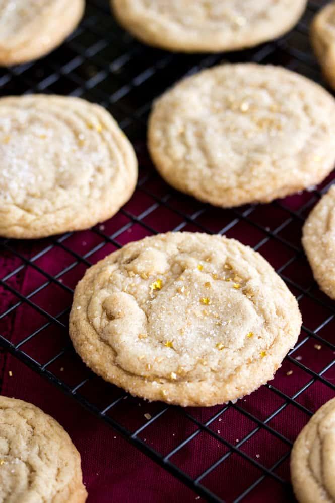 Maple Brown Sugar Cookies