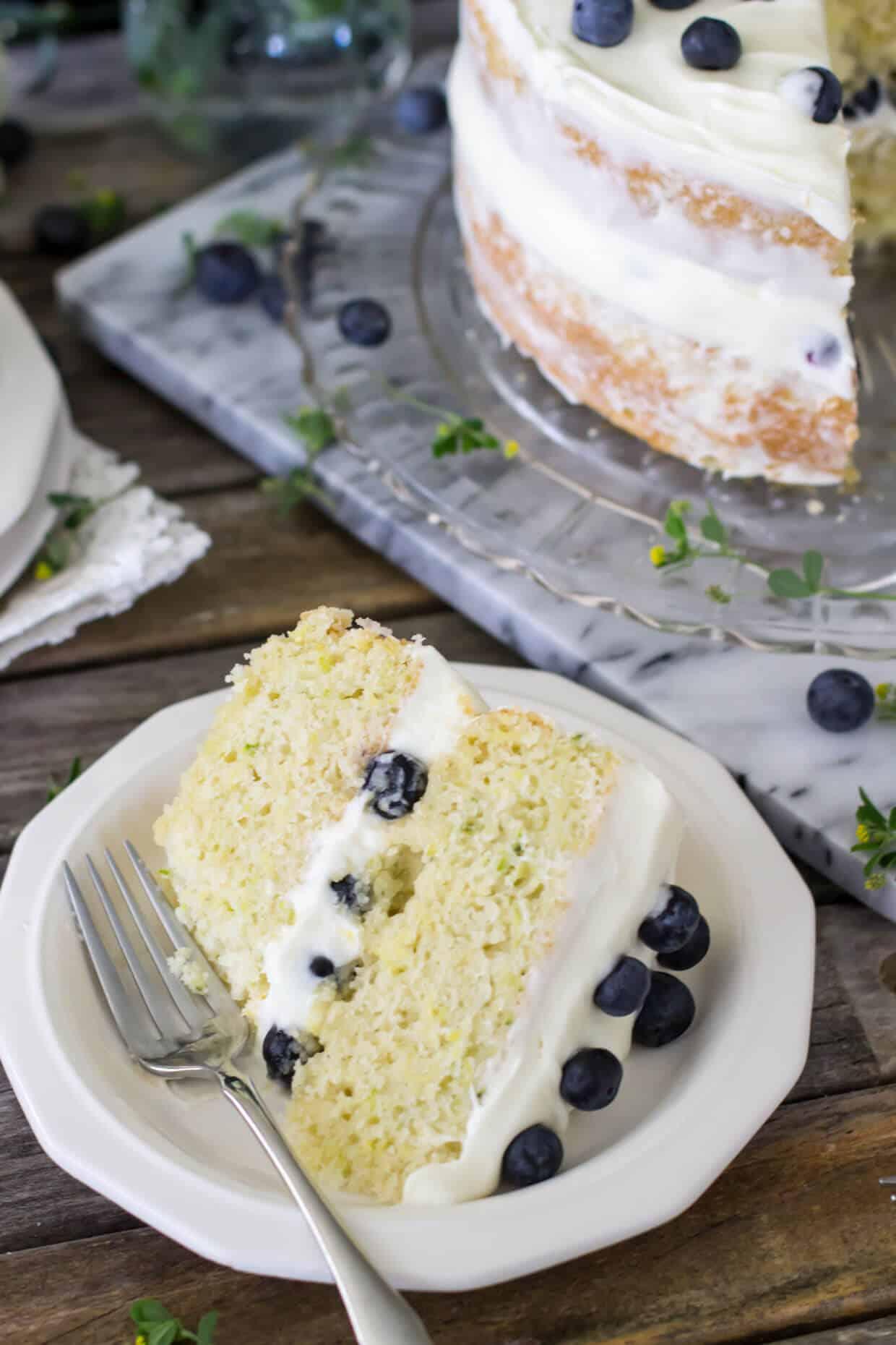 Lemon Zucchini Layer Cake