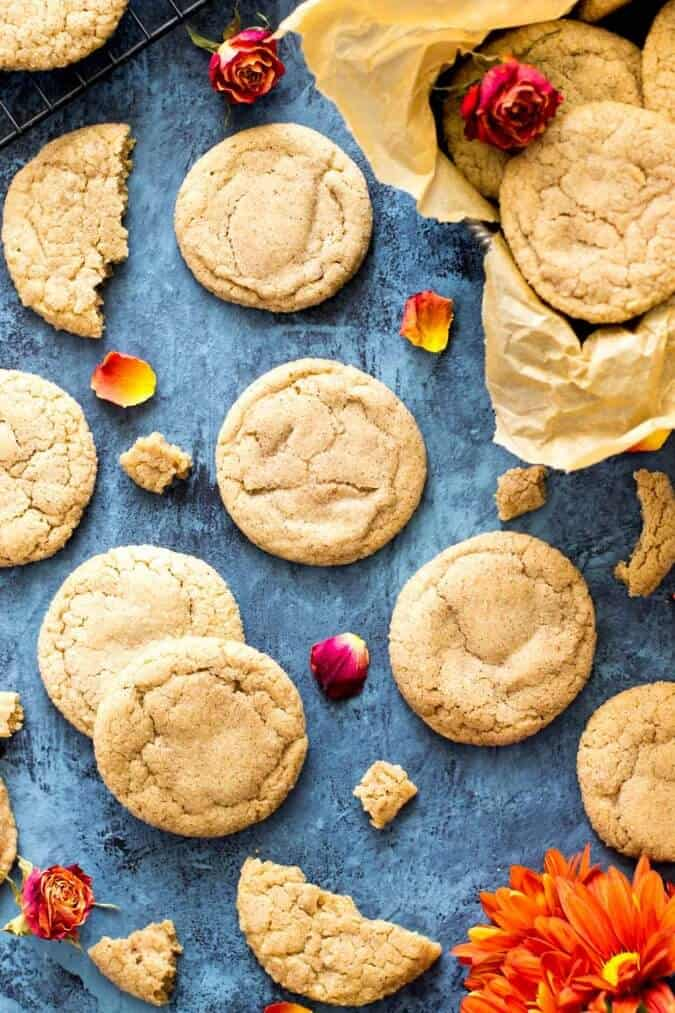 Pumpkin Spice Cookies -- these are my new Fall favorite!