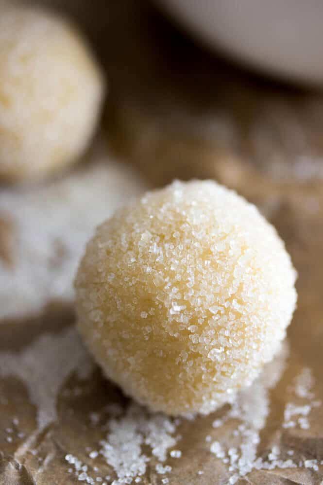 Chocolate Thumbprint Cookies -- Make sure you add a little bourbon to the ganache, it's amazing! || Sugar Spun Run