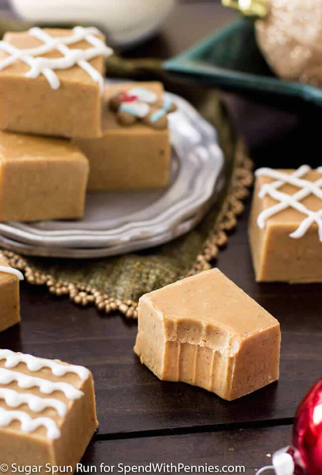 Gingerbread Spice Fudge