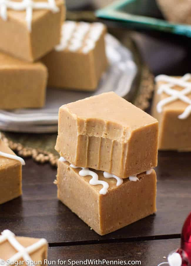 Gingerbread Spice Fudge || Sugar Spun Run